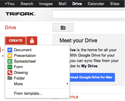 Reporting bugs for Dummies with Google Drive forms