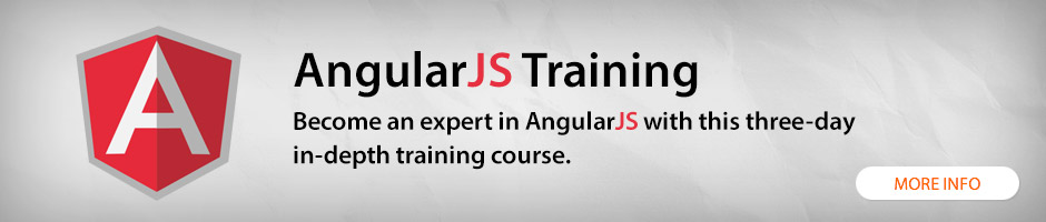 AngularJS training