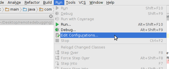 intellij-remote-debug