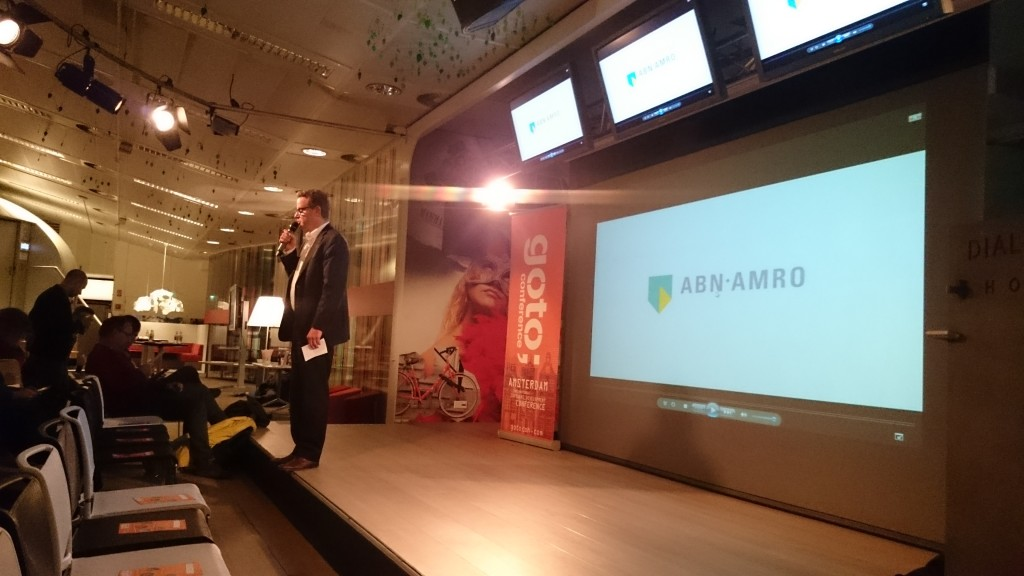ABN AMRO welcomes everybody