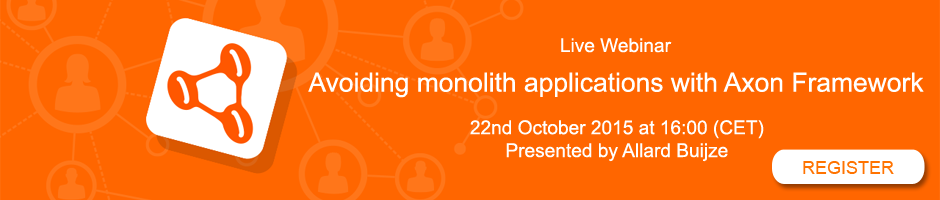Avoiding monolith applications with Axon Framework