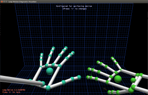 Controlling Java with the Leap Motion