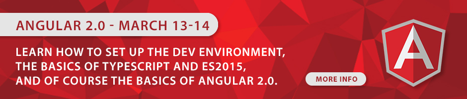 Angular 2.0 Course