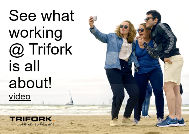 Trifork highlighted vacancies: